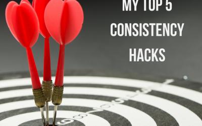My Top 5 Consistency Hacks to Get RESULTS