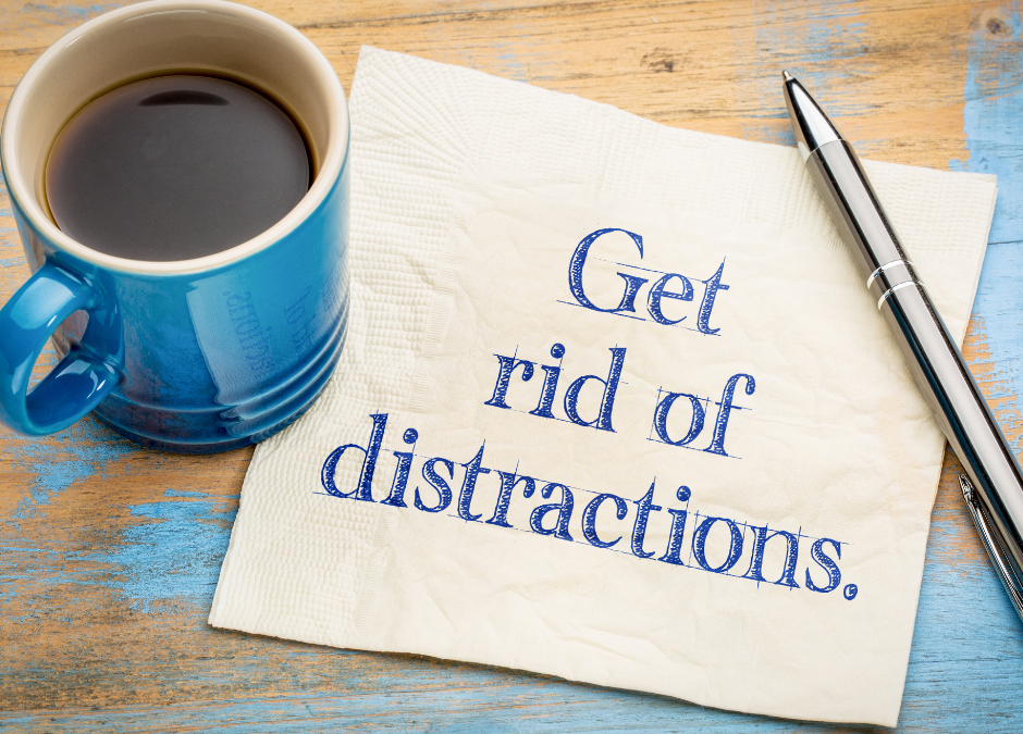 Success is Just Beyond the Distractions