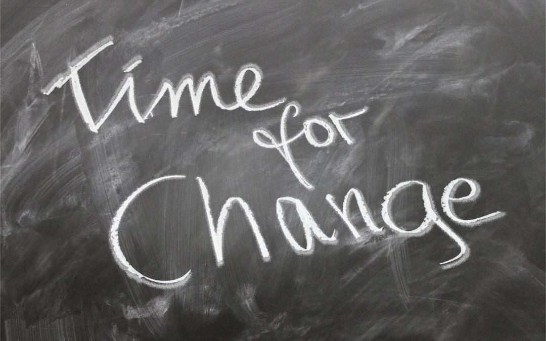 Let This Be Your Wake Up Call: It's Time to Change!