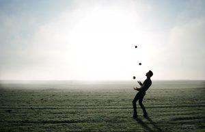 juggling life