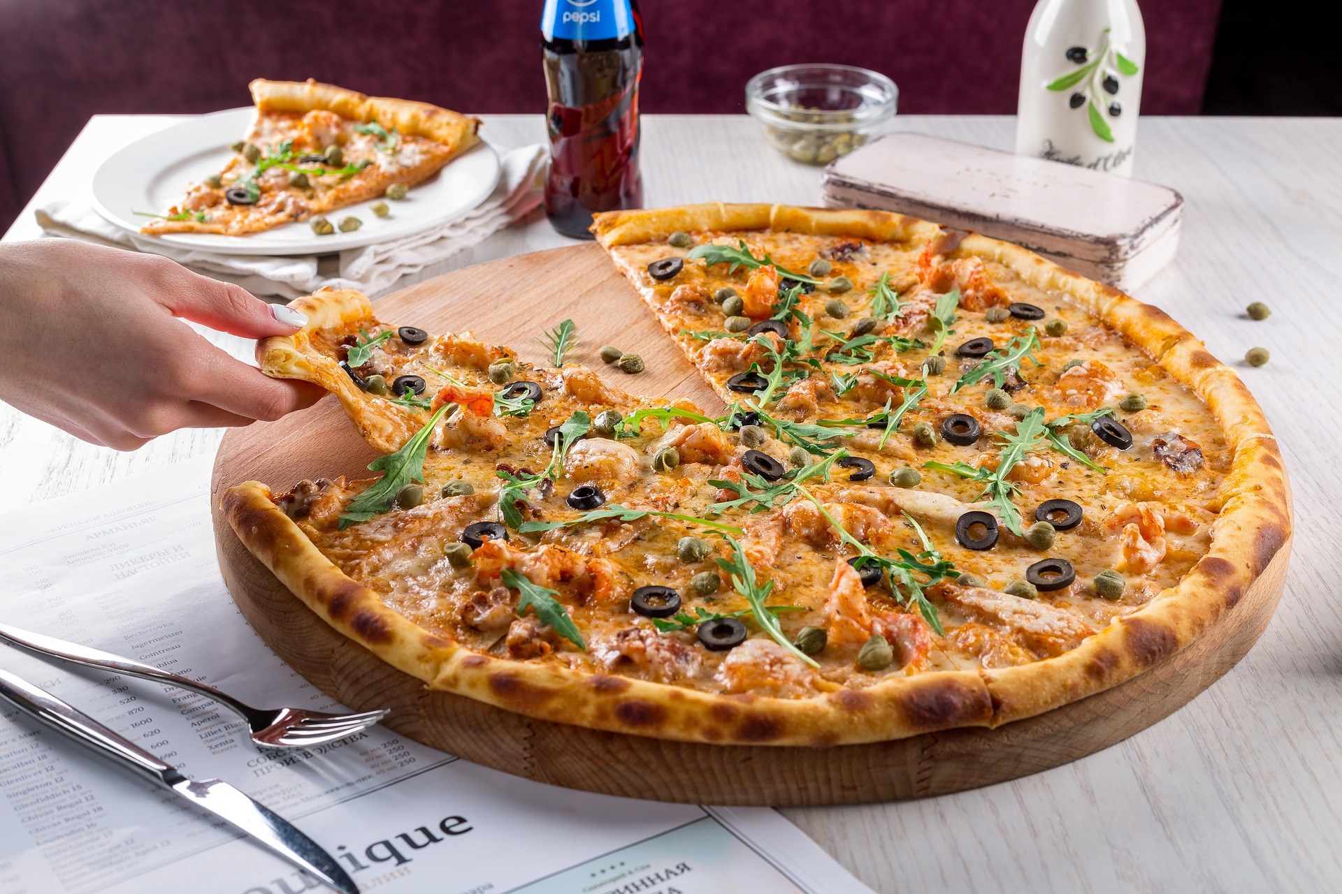 pizza and ice cream to lose weight