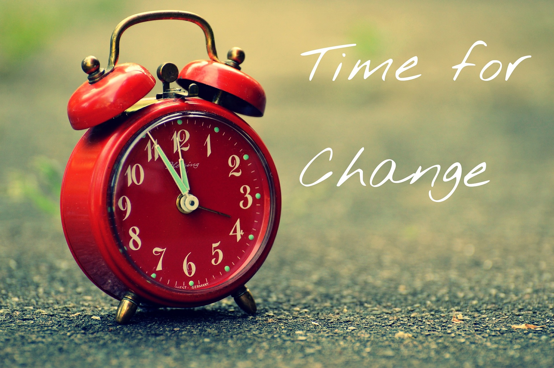 Are you still preparing to change or actually willing to change